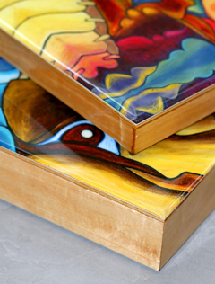 losangeles birch wood cradled panels for art projects